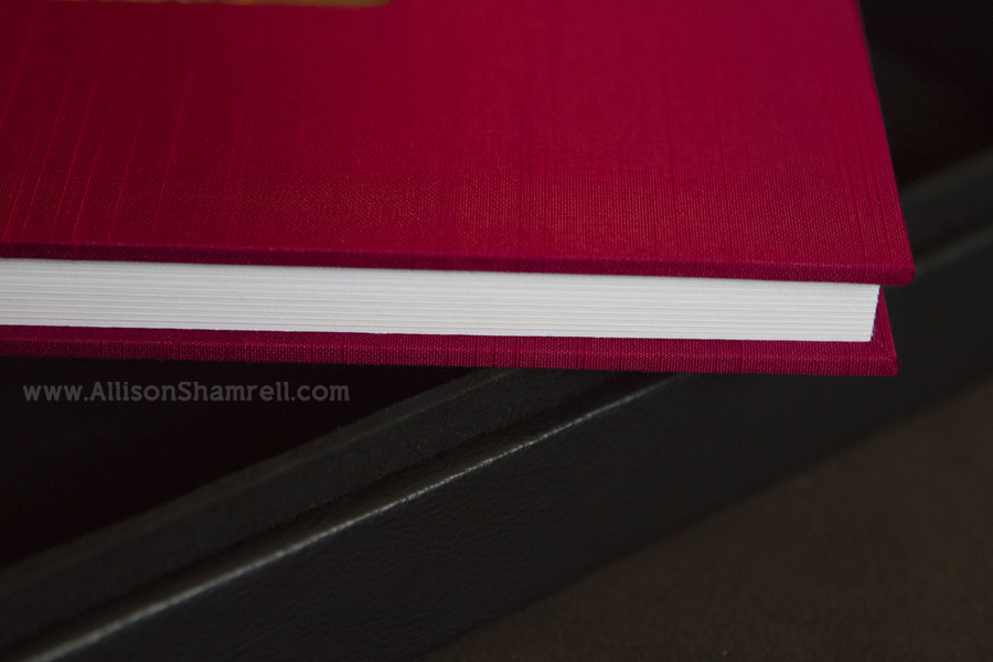 Dog photography album thick pages.