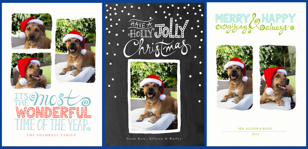 christmas cards for pets